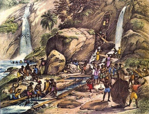 O ciclo do ouro em Minas Gerais