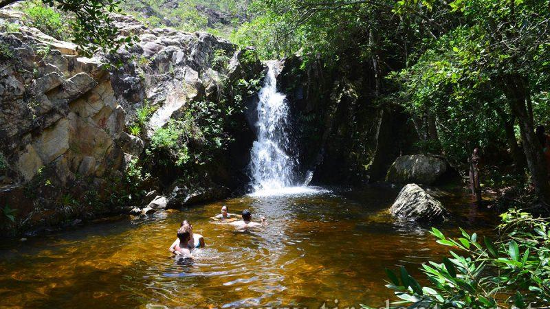 Cachoeira do Mangue em Tiradentes-MG