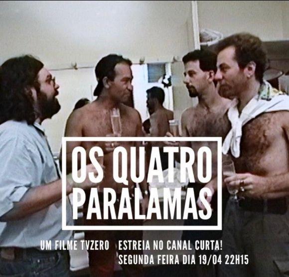 """Documentário """"Os Quatro Paralamas"""" estreia no canal Curta!"""